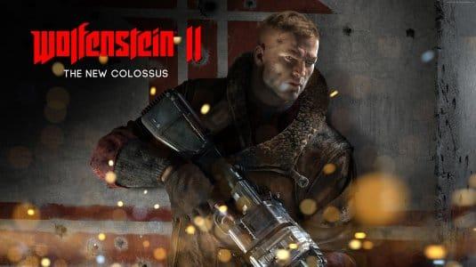 Wolfenstein 2: обои на рабочий стол № 1