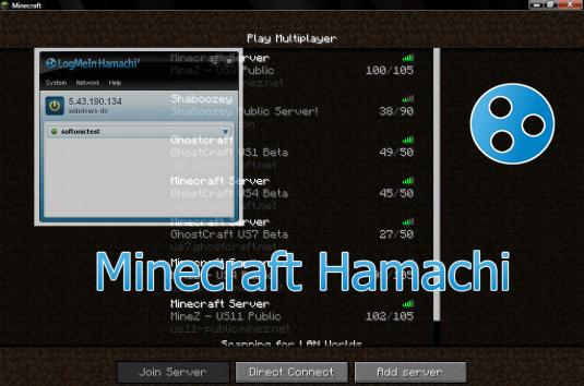 Программа Hamachi для создания игровой сессии
