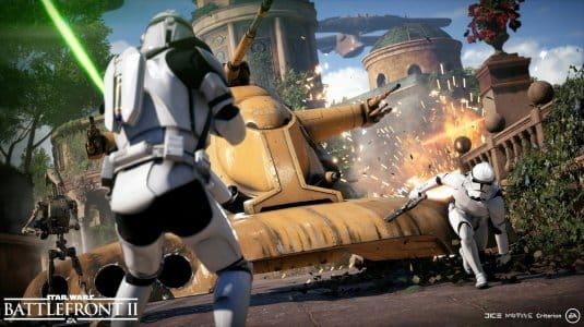 Огромная боевая машина в Star Wars