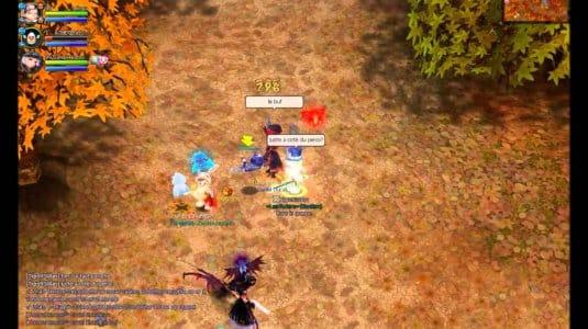 Прокачка группы персонажей с помощниками