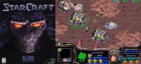 Так выглядел игровой процесс в игре-легенде StarCraft