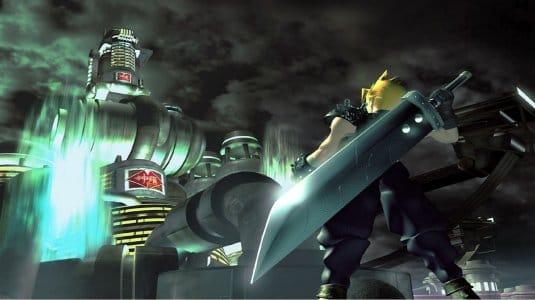 Screenshot №2. Заставка к Final Fantasy VII