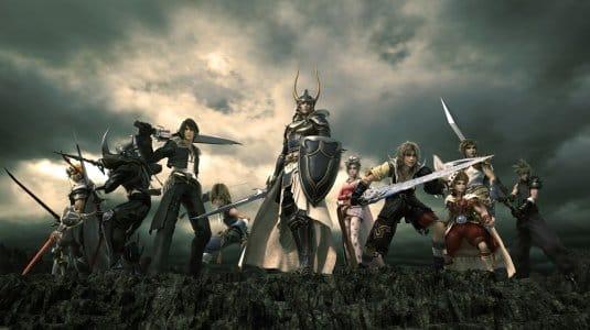 Screenshot №1. Герои всех Final Fantasy