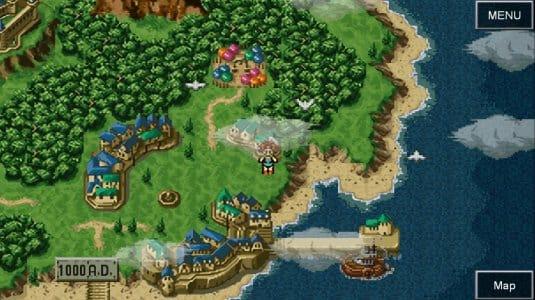 Sreenshot №12. Chrono Trigger Карта мира