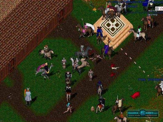 Игровой процессс в Ultima Online