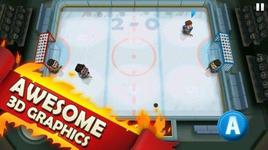 3D графика в Ice Rage: Хоккей