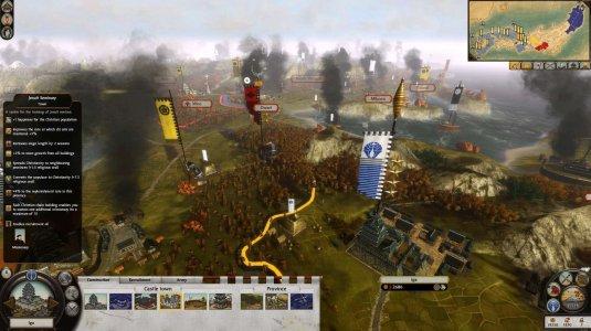 Карта игры Total War: Shogun 2