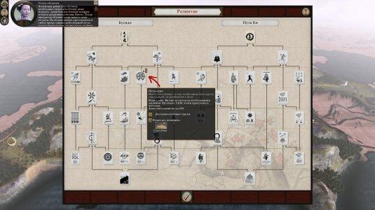 Ветки развития в Total War: Shogun 2