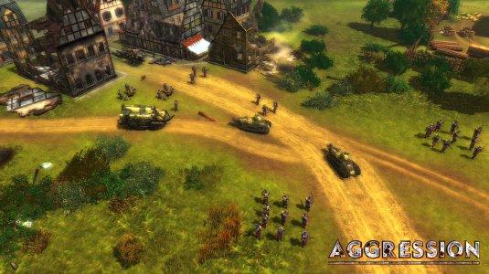 Бравые танки в бой идут