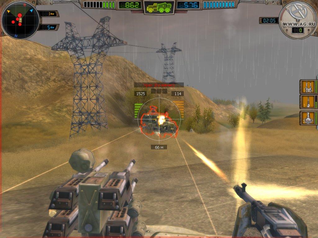 Стрельба по противнику