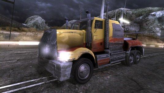 Мощный грузовик
