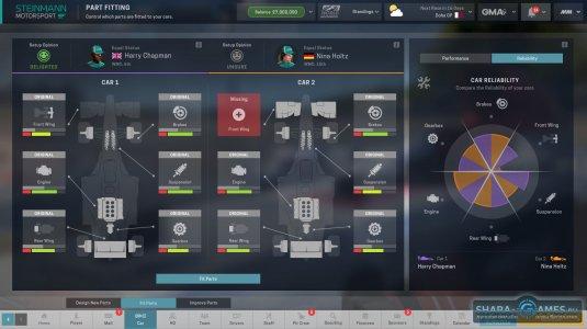 Интерфейс и управление