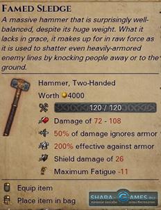 Двуручное оружие