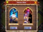 Скриншоты № 4. Алтарь Castle Clash: Age of Legends