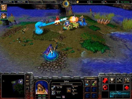 Джайна Прадмур в Warcraft III: Reign of Chaos