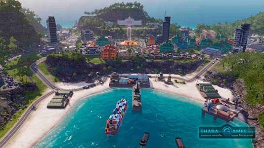 Порт в Tropico 6