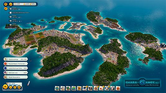 Островная система с высоты Тропико 6