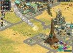 Скриншот 11. Падение ядерной бомбы на греческие земли, где стоит Эйфелева башня в Rise of Nations