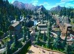 Скриншот Planet Coaster № 6. Парк посреди горной местности