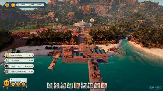 Иконки на экране Tropico 6, с помощью которых вы будете управлять своим государством