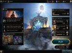 Скриншоты № 2. Меню The Elder Scrolls: Legends