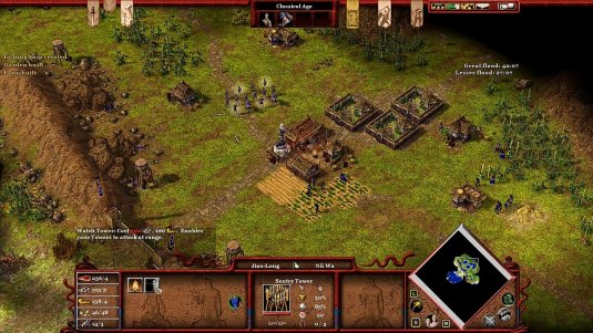 Age of Mythology: начало игры