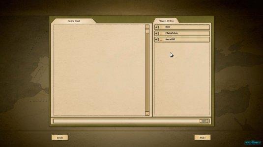 Окно мультиплеера, где можно найти себе соперника для сетевой игры