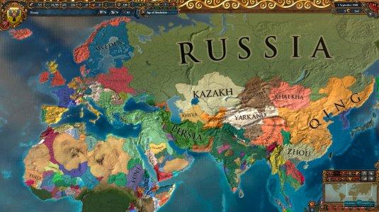 Глобальная карта в EU 4