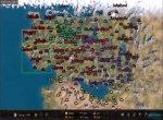 Скриншот Mount & Blade II: Bannerlord №1. Глобальная карта в Bannerlord