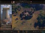 Скриншот Mount & Blade II: Bannerlord №2. Город и меню постройки осадных орудий