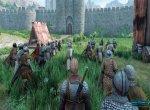 Скриншот Mount & Blade II: Bannerlord №14. Штурм крепости при помощи осадной башни и тарана