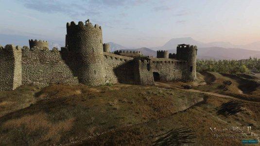 Реалистичная крепость в игре Mount & Blade 2: Bannerlord