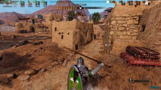 Мультиплеерная битва в Mount and Blade 2: Bannerlord