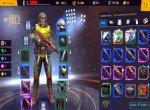 Скриншоты № 4. Инвентарь Shadowgun Legends