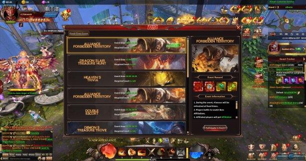 Скриншот № 5. События League of Angels: Heaven's Fury