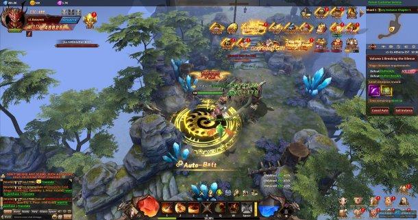Скриншот № 4. Джунгли League of Angels: Heaven's Fury