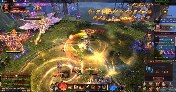 Скриншот № 2. Взмах League of Angels: Heaven's Fury