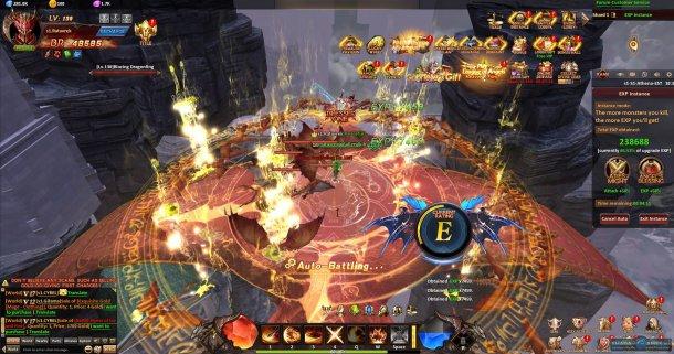 Скриншот № 3. Полет League of Angels: Heaven's Fury