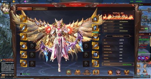 Скриншот № 6. Персонаж League of Angels: Heaven's Fury