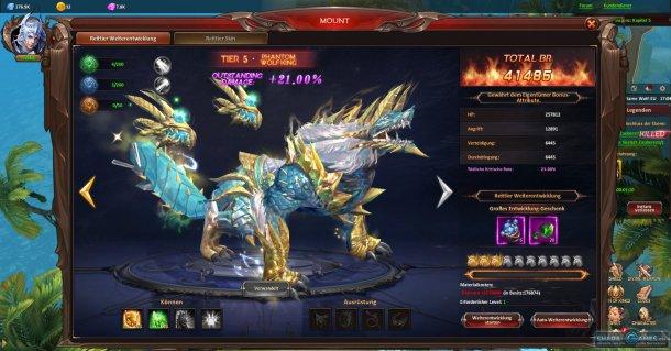 Скриншот № 7. Скакун League of Angels: Heaven's Fury