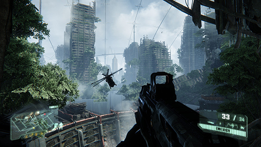 Будущее в Crysis 3