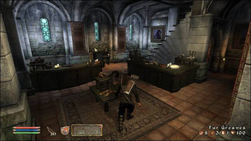 Прокрадываясь в Oblivion
