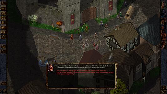 Начало в Baldur's Gate