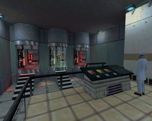 Лаборатория в Half-Life