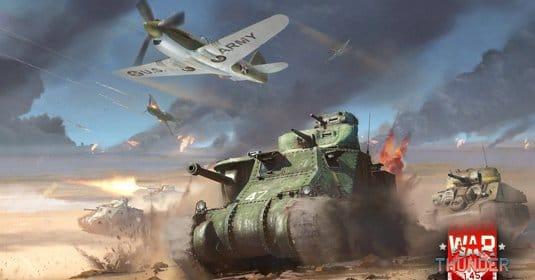 ��������� ���������� � War Thunder