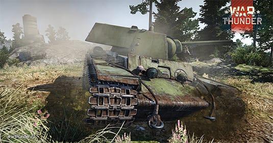 Продолжается тестирование танков в War Thunder
