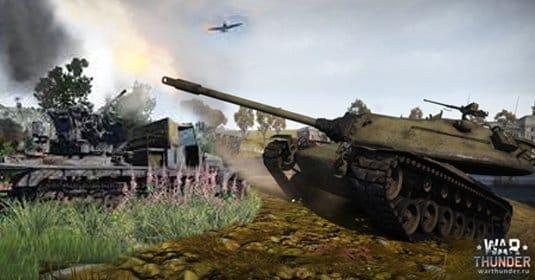 Обновление War Thunder — наземная техника