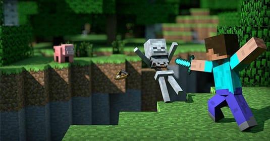Warner Bros ������ ����� ��� Minecraft