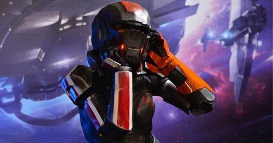 Коммандер Шепард — косплей на Mass Effect