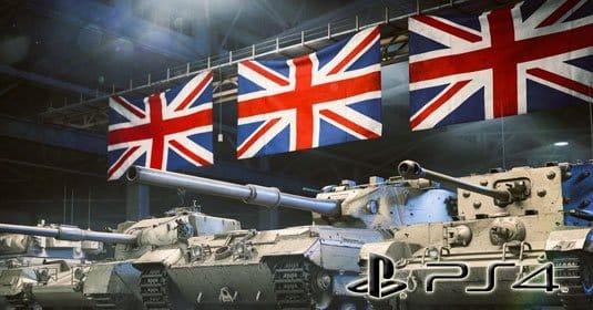 Обновление World of Tanks для PlayStation 4 от 10 февраля 2016 — Британская ветка развития